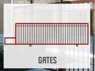 Ornamental Iron Gates Manufacturer For Contractors