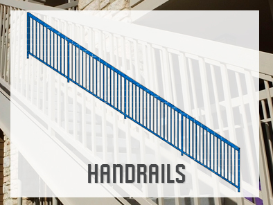 Custom Grade Welded Handrails Manufacturer